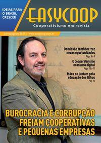 Revista EasyCOOP - Burocracia e Corrupção freiam cooperativas e pequenas empresas