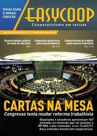 Revista EasyCOOP - Cartas na Mesa - Reforma Trabalhista