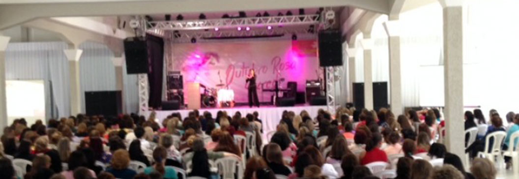SICREDI CENTRO SUL: Outubro Rosa reúne 500 mulheres