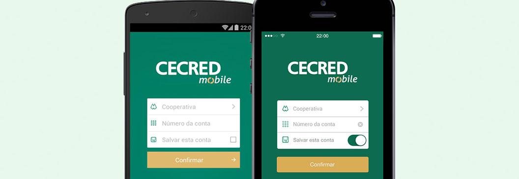 Sistema CECRED lança aplicativo para celulares
