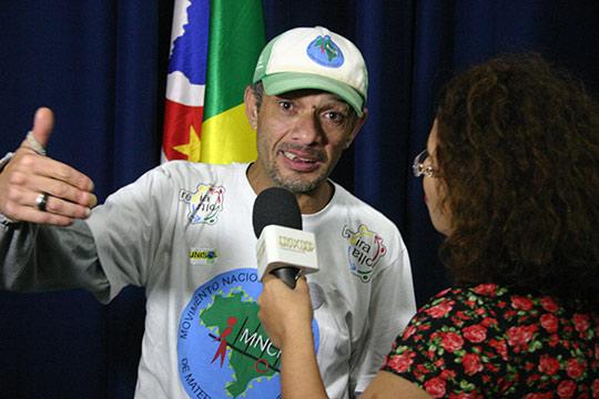 Entrevista com Armando, da cooperativa Coopercata